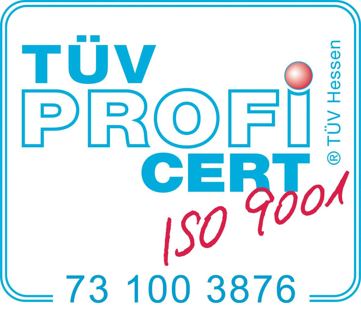 150323 Warenzeichen ISO 9001 mit Zertifikat Nr. - Überwurfmutter nach DIN 3376 Teil 1 für Zweistutzenanschluss