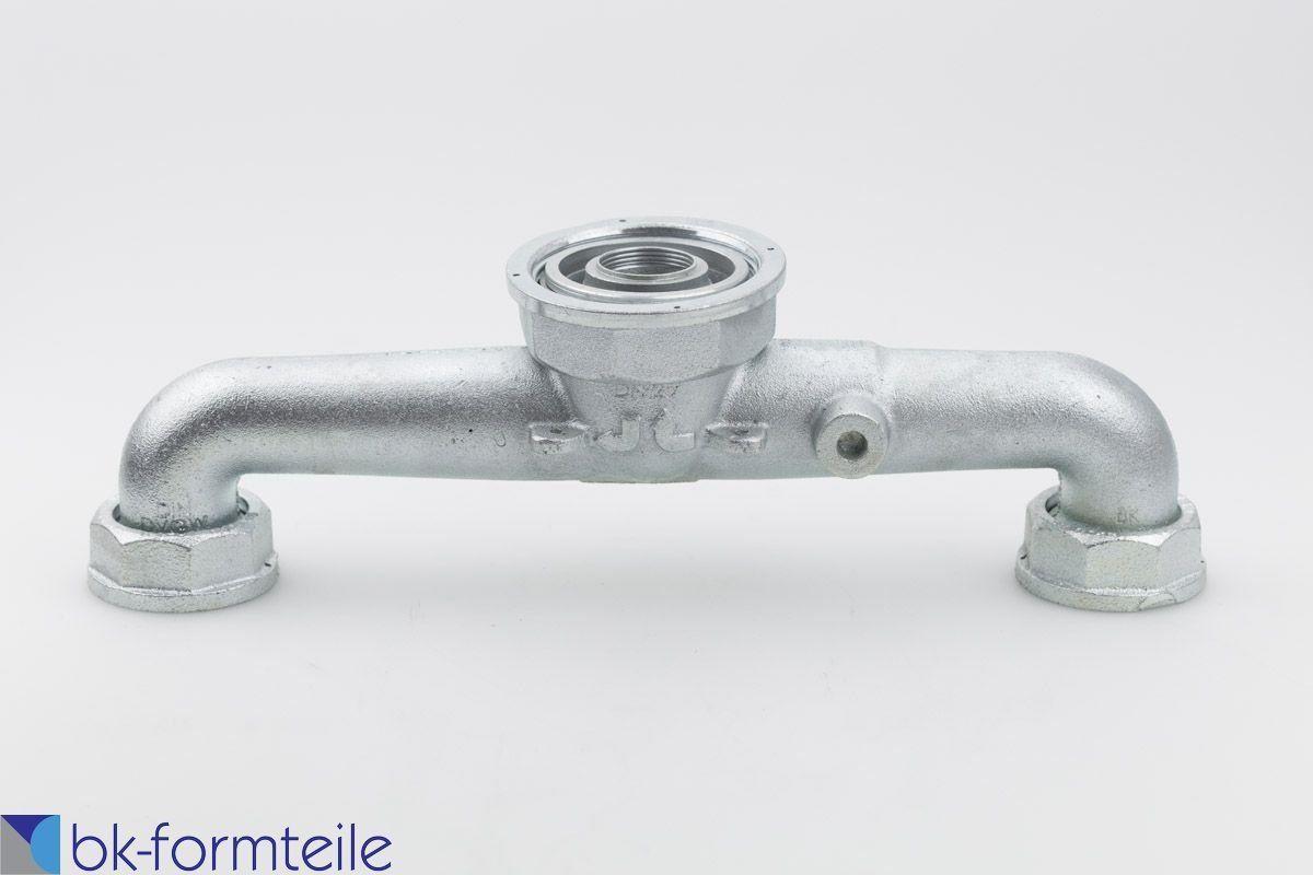 """17051417565940009 1200x800 - Gaszähleranschlussstück """"Hirschgeweih"""" DN25 mit Überwurfmuttern"""