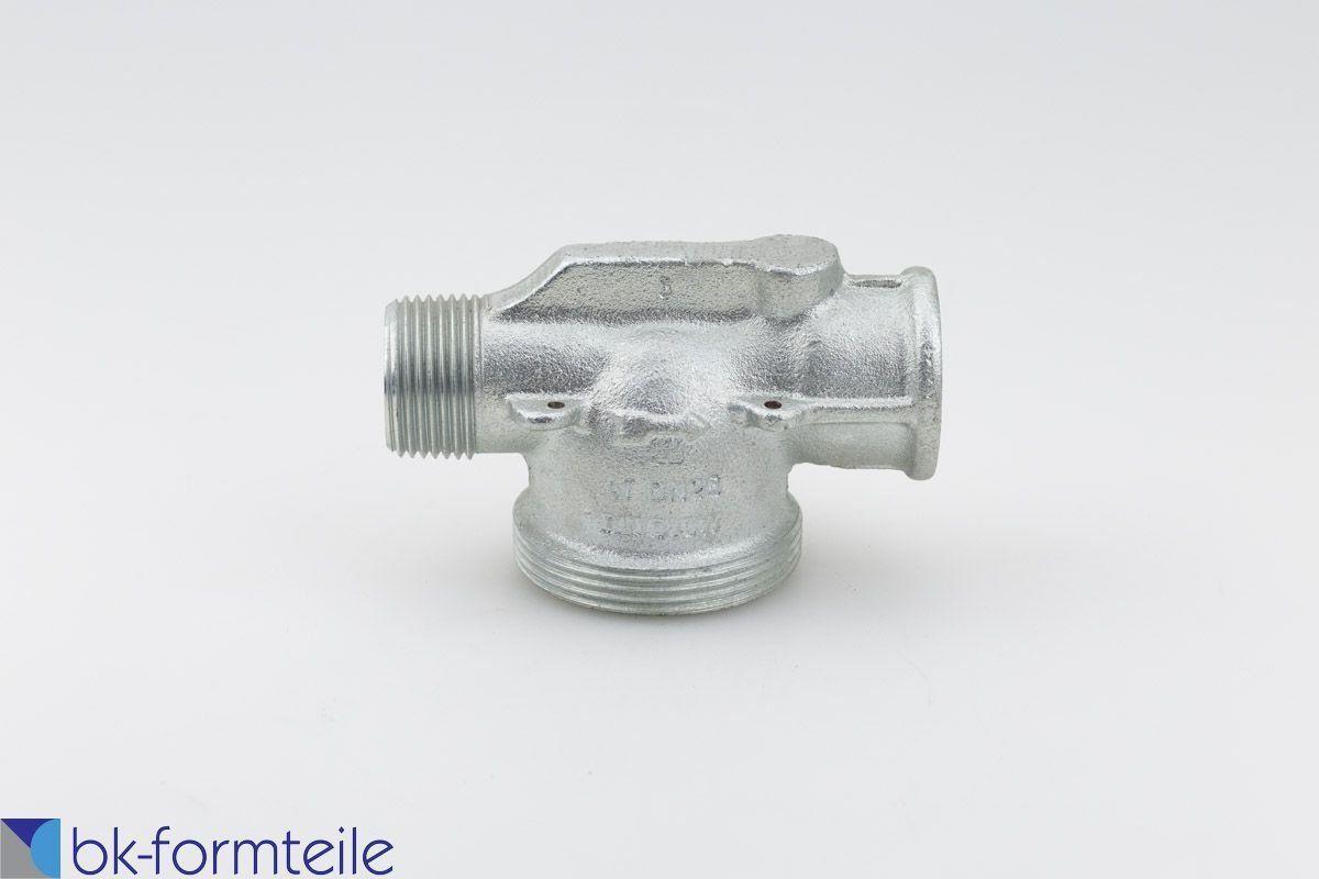 Gaszähleranschlussstück DN25