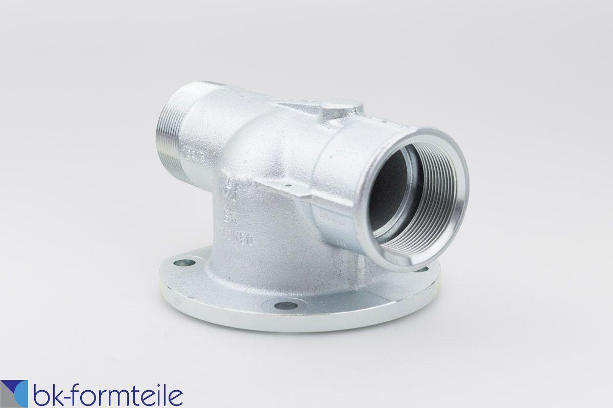Gaszähleranschlussstück DN50