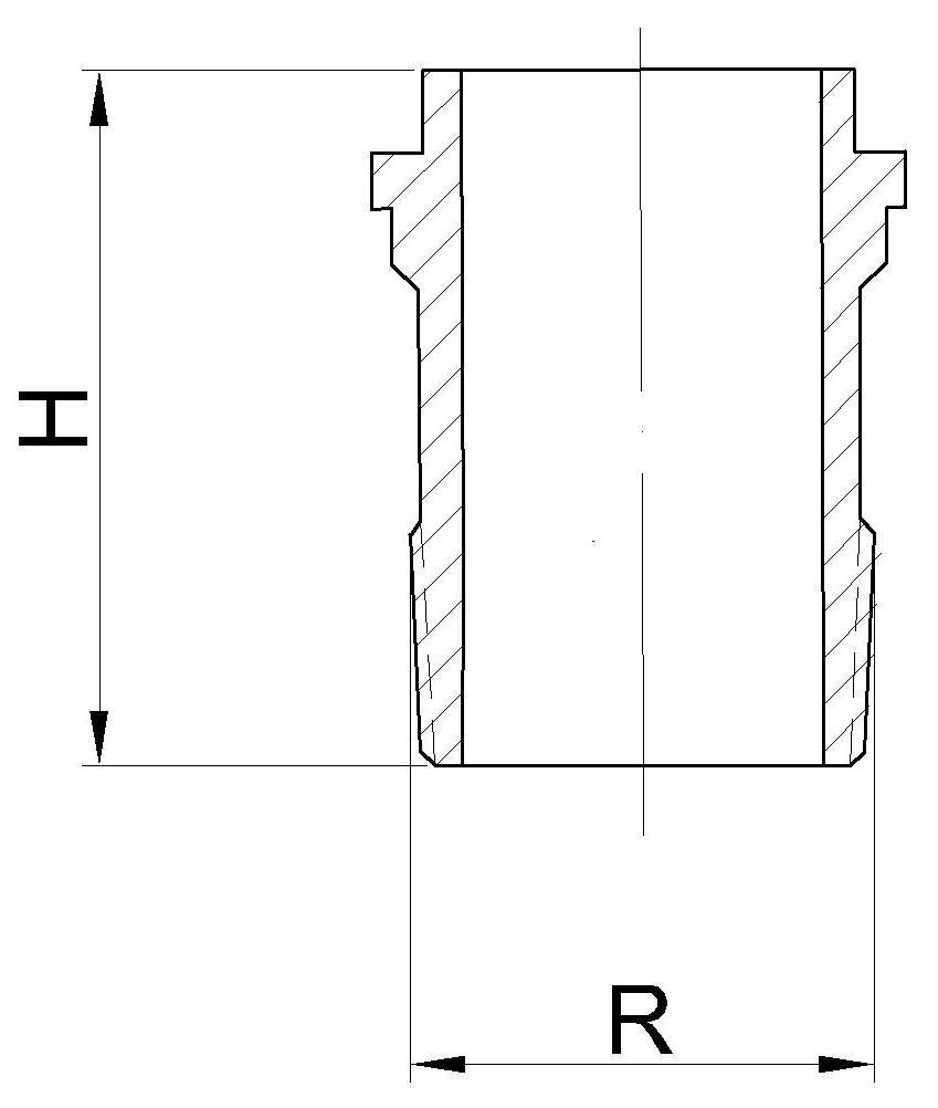 82 001 20 50 00Katalog - Gewindestutzen nach DIN 3376 Teil 1 für Zweistutzenanschluss